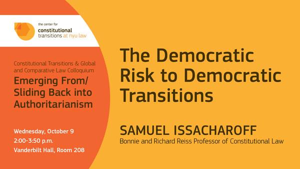 Samuel Issacharoff Colloquium
